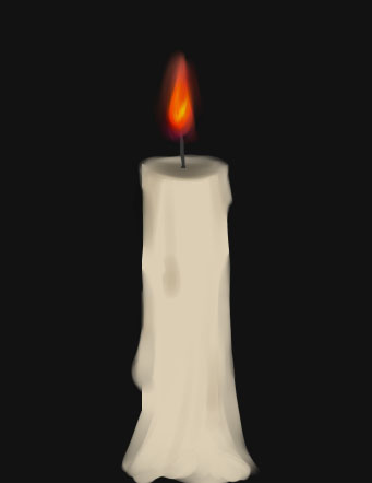 Как рисовать огонь